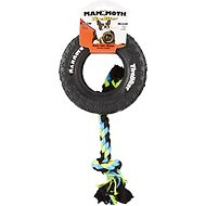 Mammoth TireBiter Tire & Rope Dog Toy, Small