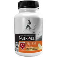 Nutri-Vet Fish Oil Dog Softgels, 100-count