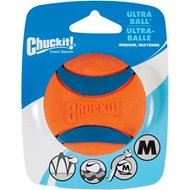 Chuckit! Ultra Rubber Ball Dog Toy, Medium