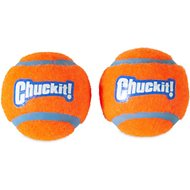 Chuckit! Double Pack Dog Tennis Ball, Small