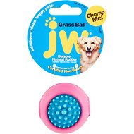 JW Pet Grass Ball Dog Toy, Color Varies, Small