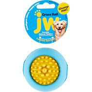 JW Pet Grass Ball Dog Toy, Color Varies, Medium