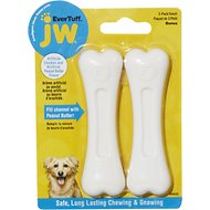 JW Pet Nylon Double Pack Chicken & Peanut Butter Dog Bone, Small