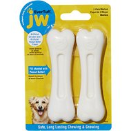 JW Pet Nylon Double Pack Chicken & Peanut Butter Dog Bone, Medium