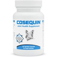 Nutramax Cosequin Standard Strength Capsules Joint Health Small Dog & Cat Supplement, 132 capsules