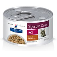 Hill's Prescription Diet i/d Digestive Care Chicken & Vegetable Stew Canned Cat Food
