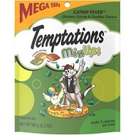 Temptations Mixups Catnip Fever Cat Treats, 6.3-oz bag