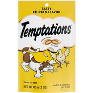 Temptations Tasty Chicken Flavor Cat Treats, 3-oz bag