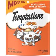Temptations Tantalizing Turkey Flavor Cat Treats, 6.3-oz bag