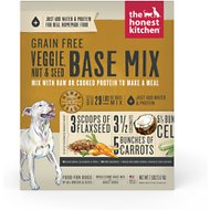 The Honest Kitchen Grain-Free Veggie, Nut & Seed Dehydrated Dog Food Base Mix, 7-lb box