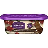 Rachael Ray Nutrish Natural Beef Stroganwoof Natural Wet Dog Food, 8-oz tub, case of 8