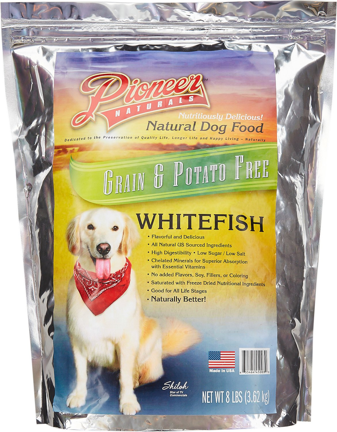Pioneer Naturals Grain Free Whitefish Dry Dog Food