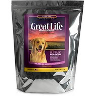 Great Life Grain-Free Buffalo Dry Dog Food, 7-lb bag