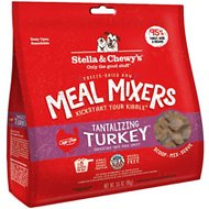 Stella & Chewy's Tantalizing Turkey Meal Mixers Freeze-Dried Raw Dog Food Topper, 3.5-oz bag