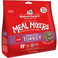 Stella & Chewy's Tantalizing Turkey Meal Mixers Grain-Free Freeze-Dried Dog Food, 18-oz bag