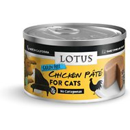 Lotus Chicken Pate Grain-Free Canned Cat Food, 2.75-oz, case of 24