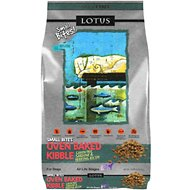 Lotus Oven-Baked Fish Small Bites Recipe Grain-Free Dry Dog Food, 10-lb bag