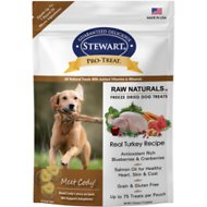 Stewart Pro-Treat Raw Naturals Real Turkey with Berries & Flaxseed Freeze-Dried Dog Treats