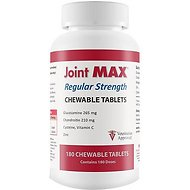 Joint MAX Regular Strength Chewable Tablets for Dogs & Cats, 180 count