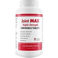 Joint MAX Triple Strength Chewable Tablets for Dogs, 120 count
