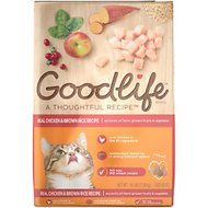 Goodlife Real Chicken & Brown Rice Recipe Dry Cat Food, 16-lb bag