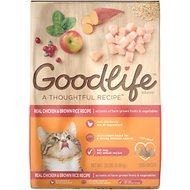 Goodlife Real Chicken & Brown Rice Recipe Dry Cat Food, 22-lb bag