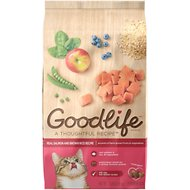 Goodlife Real Salmon & Brown Rice Recipe Dry Cat Food, 7-lb bag