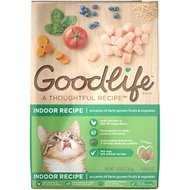 Goodlife Indoor Chicken Recipe Dry Cat Food, 16-lb bag