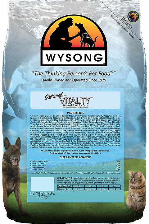 Wysong Vitality Cat Food