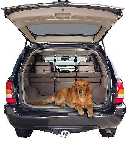 precision pet products universal fit 6 bar dog cat vehicle barrier