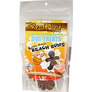 The Real Meat Company Turkey Recipe with Pineapple & Coconut Pina Colada Beach Bums Dog Treats, 4-oz bag