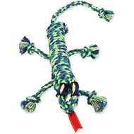 Mammoth SnakeBiter Iguana Rope Dog Toy, Color Varies, Medium