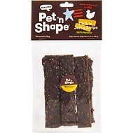 Pet 'n Shape Chicken Jerky Strips Dog Treats, 6 count, Medium