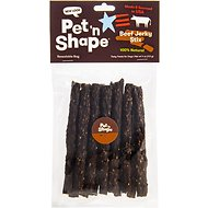 Pet 'n Shape Beef Jerky Stix Dog Treats, 8 count, Medium