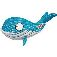 KONG CuteSeas Whale Dog Toy, Large