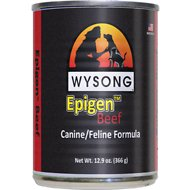 Wysong Epigen Beef Formula Grain-Free Canned  Dog, Cat & Ferret Food, 12.9-oz, case of 12