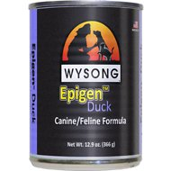 Wysong Epigen Duck Formula Grain-Free Canned  Dog, Cat & Ferret Food, 12.9-oz, case 12