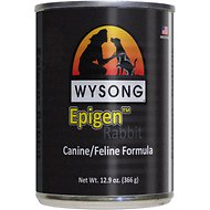 Wysong Epigen Rabbit Formula Grain-Free Canned Dog Food, 12.9-oz, case of 12