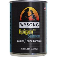 Wysong Epigen Salmon Formula Grain-Free Canned  Dog, Cat & Ferret Food, 12.9-oz, case of 12