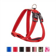 EzyDog Chest Plate Dog Harness, Red, Medium