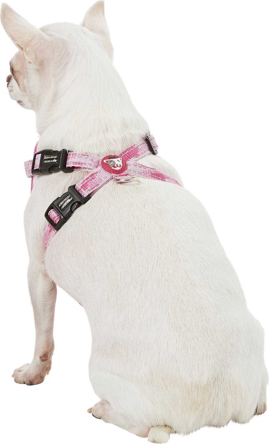 Ezydog Chest Plate Dog Harness Pink Camo X Small Chewy Com