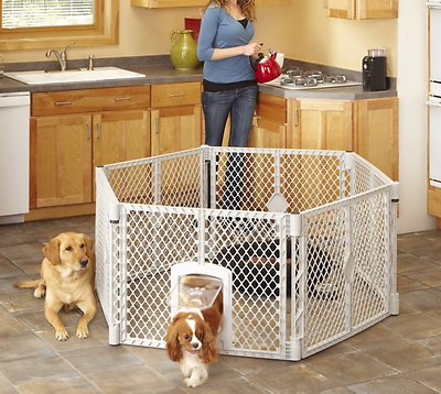 North States MyPet 34 Sq. Ft. Petyard Fencing