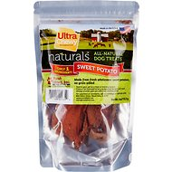 Ultra Chewy All-Natural Sweet Potato Dog Treats, 4-oz bag