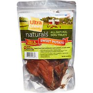 Ultra Chewy All-Natural Sweet Potato Dog Treats, 8-oz bag