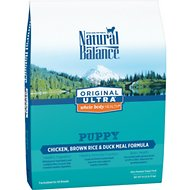 Natural Balance Original Ultra Whole Body Health Puppy Formula Chicken, Brown Rice & Duck Meal Dry Dog Food, 14-lb bag