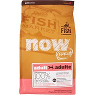 Now Fresh Grain-Free Adult Fish Recipe Dry Dog Food, 6-lb bag