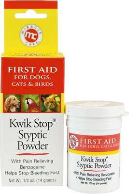 Miracle Care Kwik-Stop Styptic Powder for Dogs, Cats & Birds