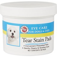 Miracle Care Eye Clear Cleaning Pads for Dogs & Cats, 90 count