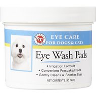Miracle Care Sterile Eye Wash Pads for Dogs & Cats, 90 count