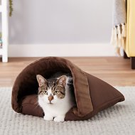 Aspen Pet Kitty Cave, Chocolate Brown